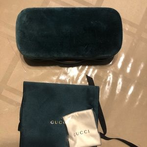 Authentic Gucci's sunglass case